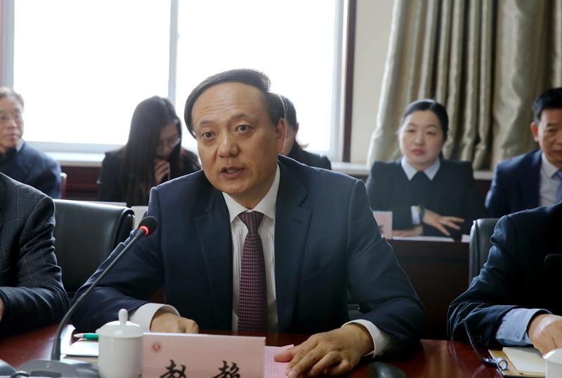 陕西省教育厅副厅长刘建林一行来校调研工作图片